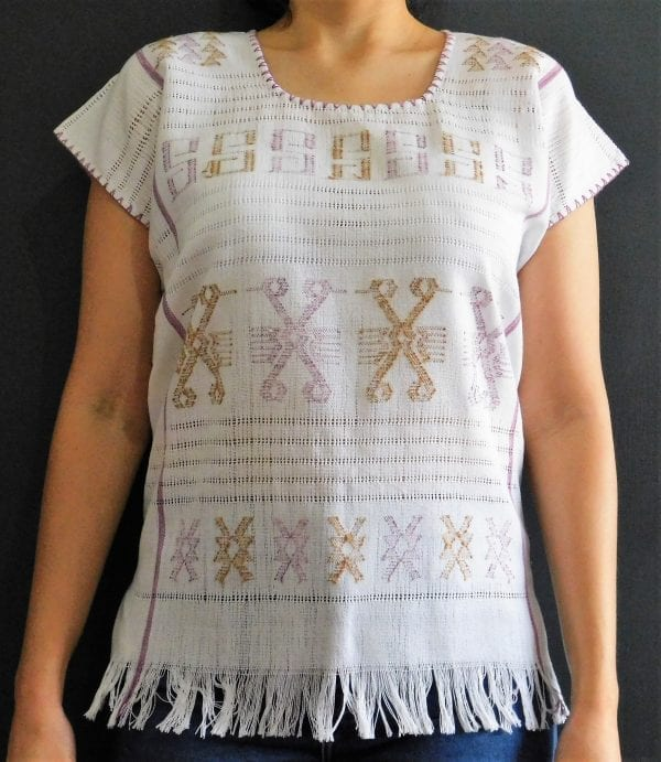 blouse-blusa-embroidered cotton-womens-striped cotton